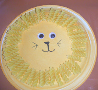 lion plate craft