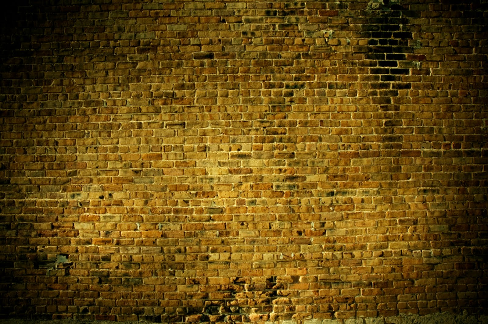 Pic new posts how to wallpaper a brick wall for Gold wallpaper for walls