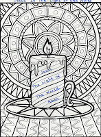 Elementary school enrichment activities jesus is the for Jesus is the light of the world coloring page