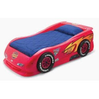 Lightning McQueen Bed