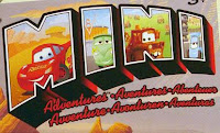 Disney Cars Mini Adventures Logo