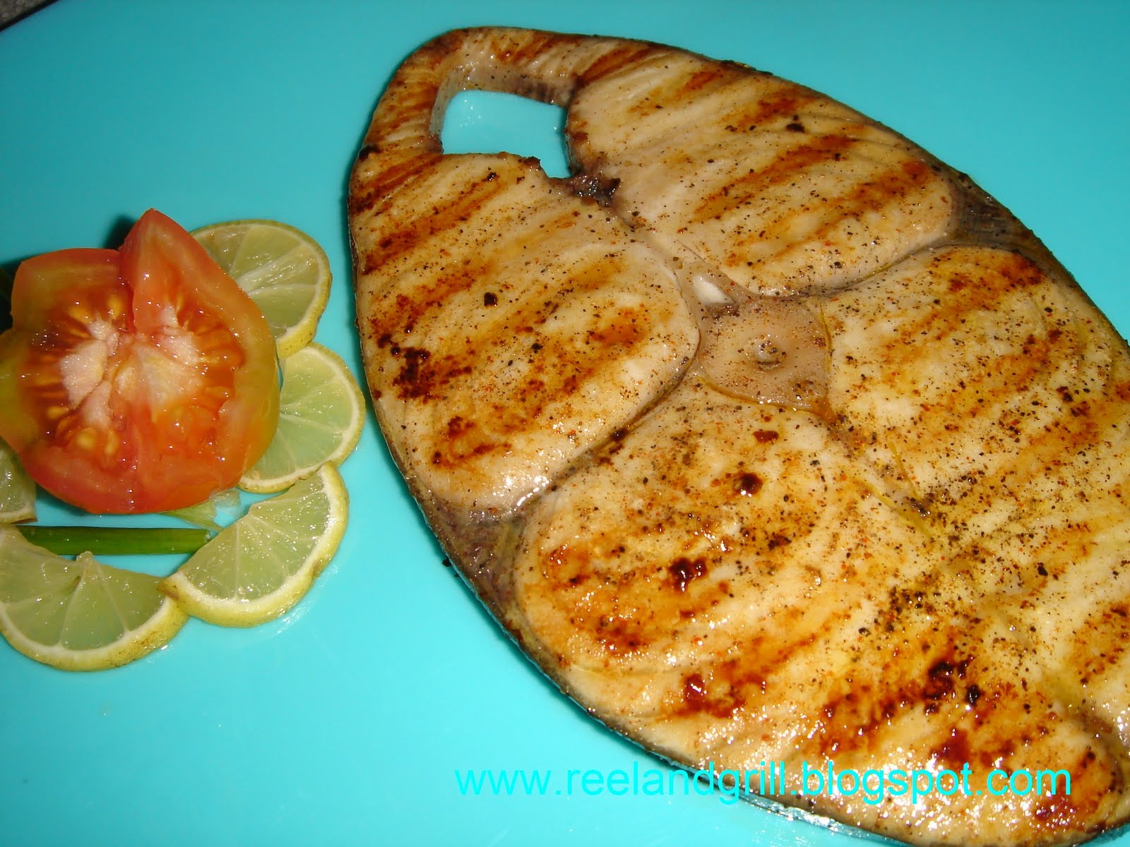 Reel and Grill: Tanigue Steak (Seer Fish Steak)