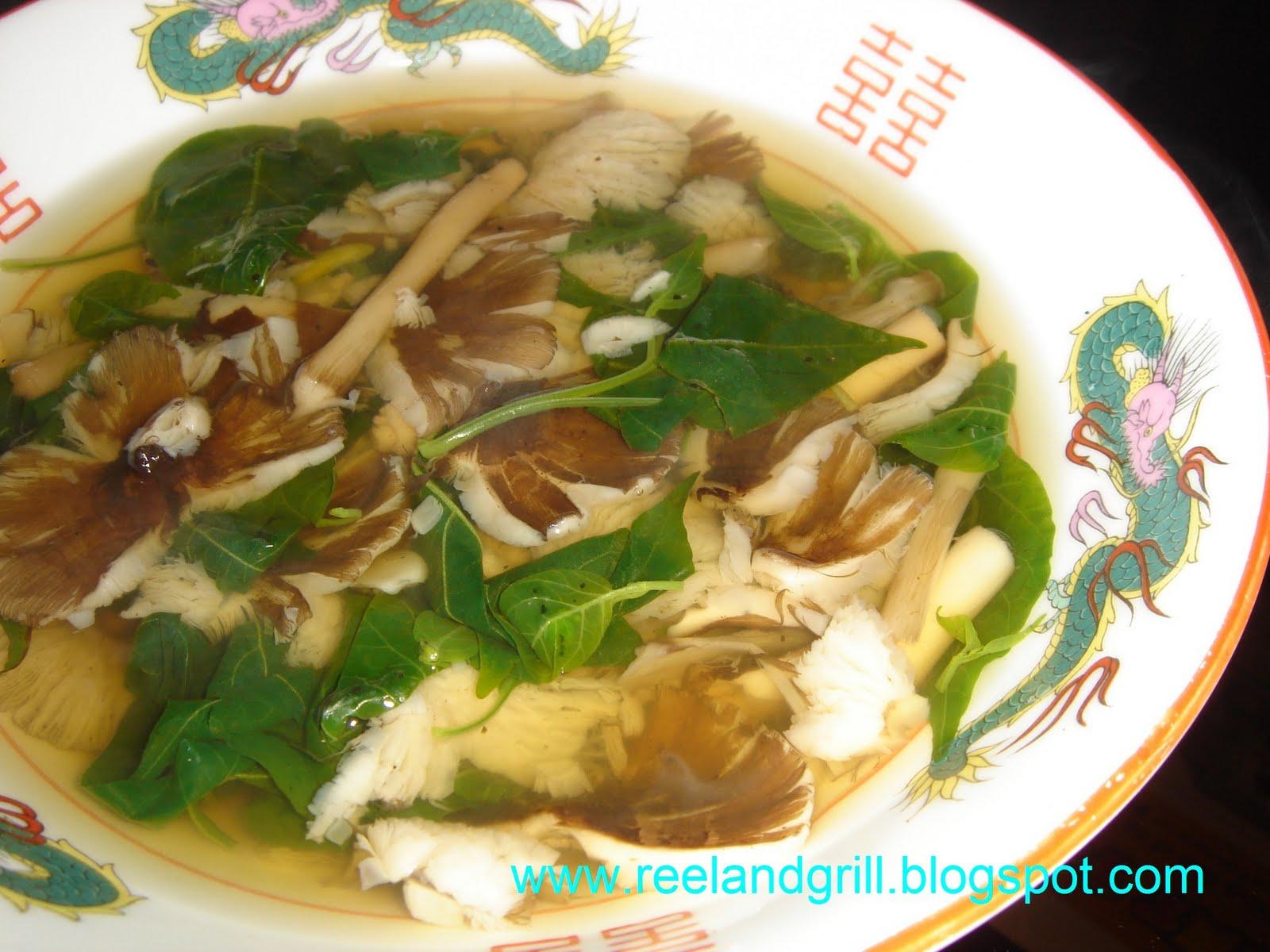 Reel And Grill Kabuteng Mamarang Tasty Wild Mushroom Soup