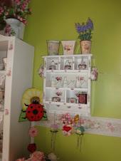 Rak Gantung Diary Roses Cottage