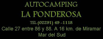Auto Camping la Ponderosa