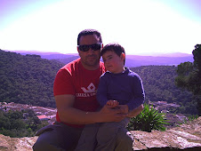 CON MI PAPI EN ARACENA 2008