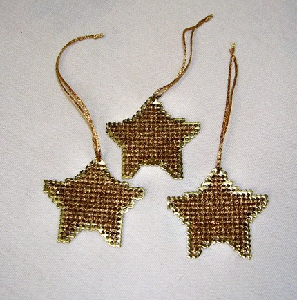 Golden stars by Stitchnmomma