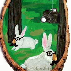 Secret Agent rabbits!
