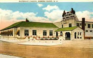 At The Point Somers Point New Jersey Usa Gateway Casino Postcard