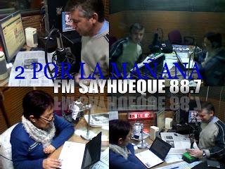 FM  SAYHUEQUE (MAÑANA 8 A 9 HS