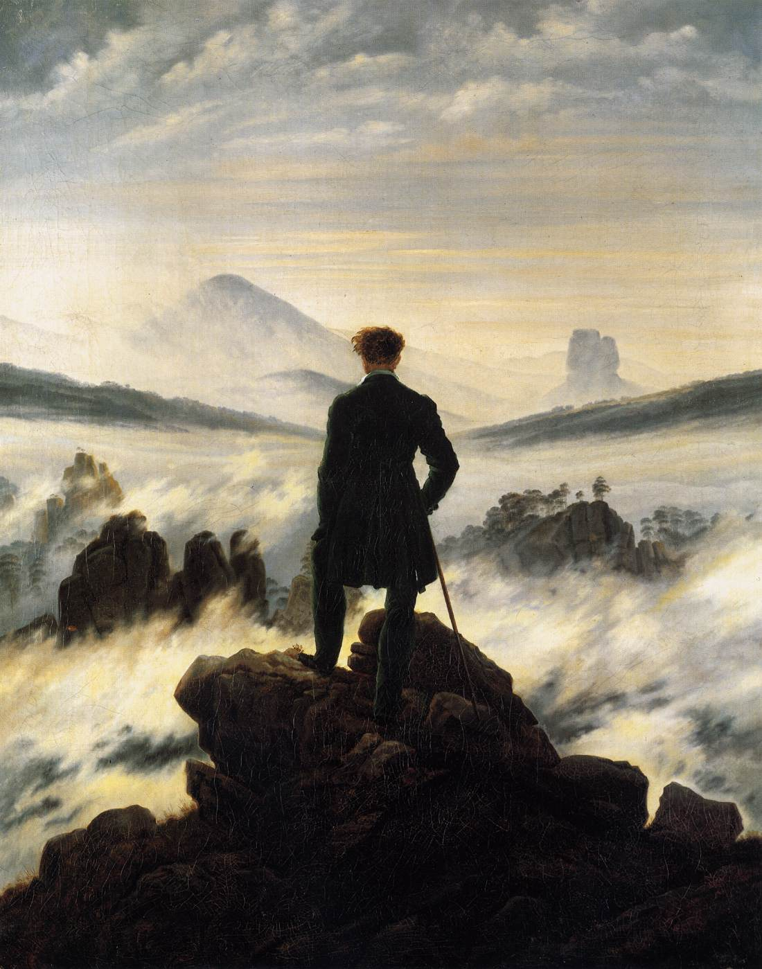 A Man of Culture: Art Gallery VII - Caspar David Friedrich ...