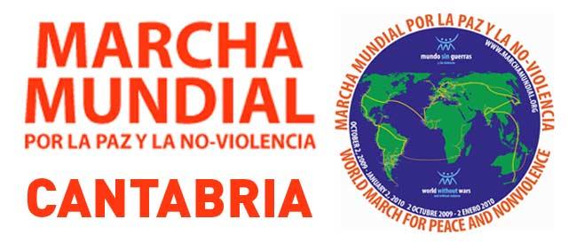 Marcha Mundial por la Paz y la No-Violencia Cantabria