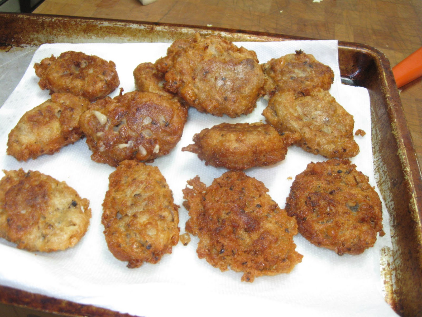 how to cook paua fritters