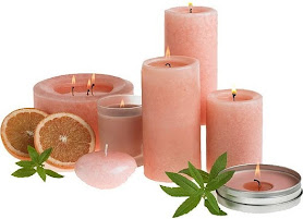 velas con aroma