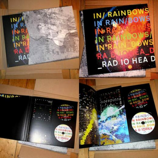 "Download: In Rainbows 2 CD's. Tracklist: CD1: 1.- ""15 Step"""