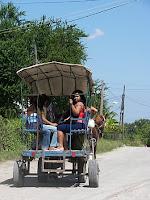 Transporte en la Calzada de San Miguel