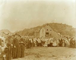 Povoado de São Pedro, fins séc. XIX.