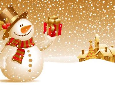 2011 yeni yıl yılbaşı kutlamaları kardan adam resmi