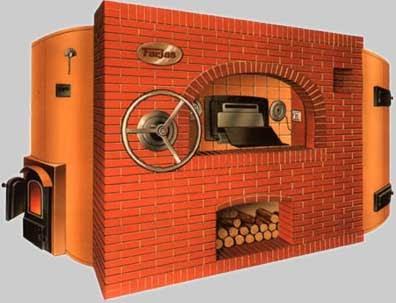 Hornos de panaderia cobamaq horno de le a giratorio de - Hacer pan horno de lena ...