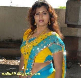 Tamil auntys saree