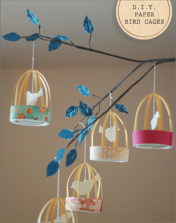 Impressive DIY Paper Bird Cages 580 x 734 · 107 kB · jpeg