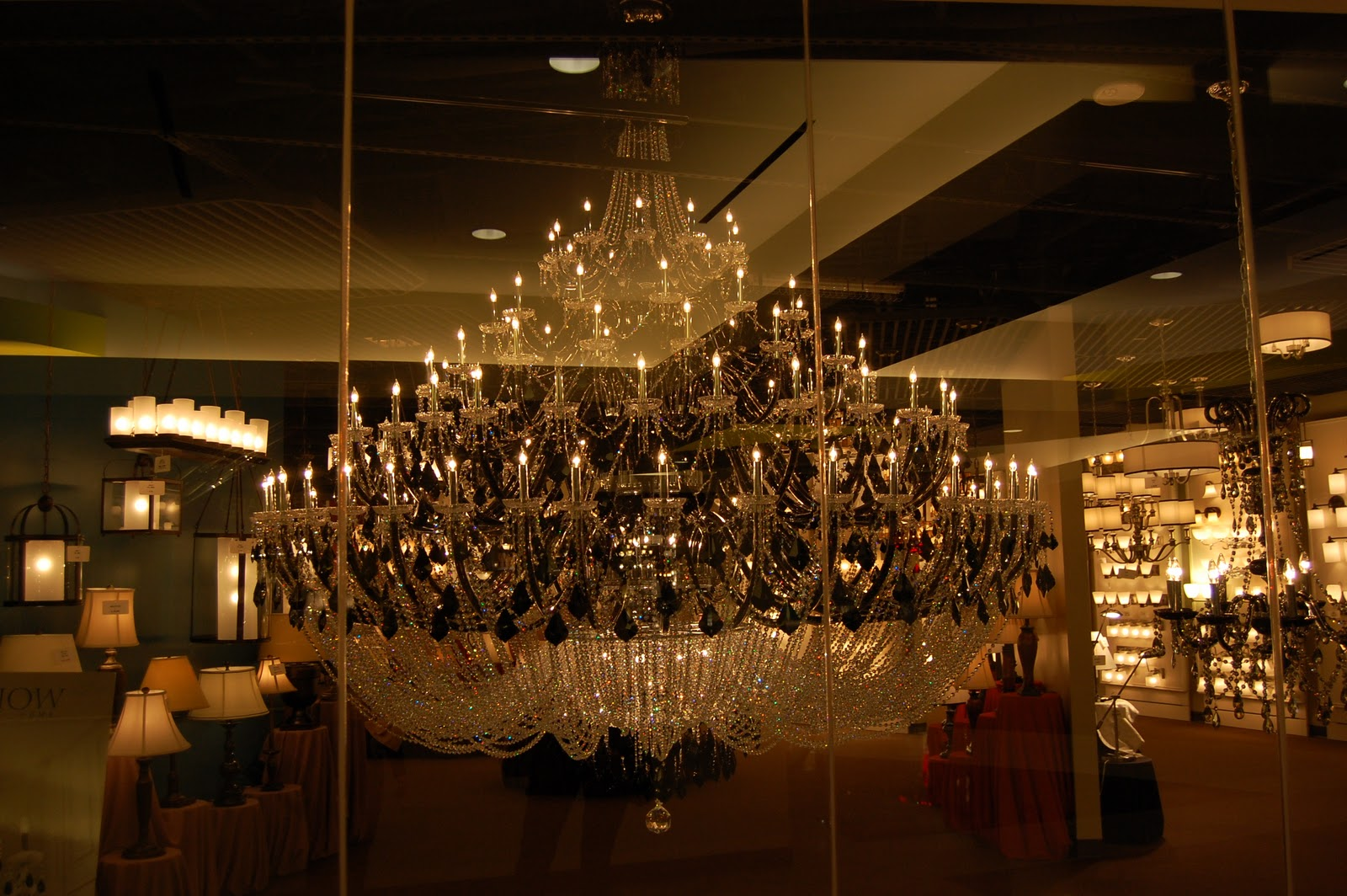 Uncategorized archives page 5 of 19 pamela sandall design this was the biggest chandelier at the show aloadofball Gallery