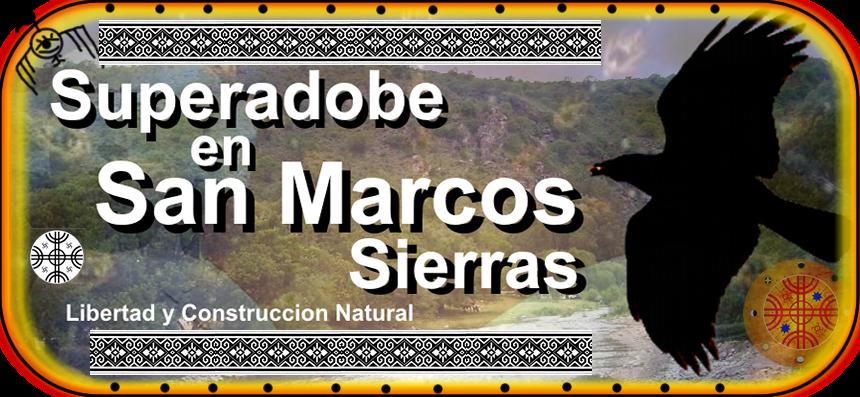 Superadobe en San Marcos Sierras