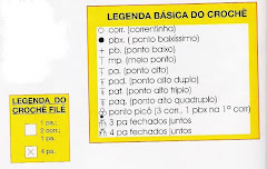 LEGENDA BÁSICA DO CROCHE