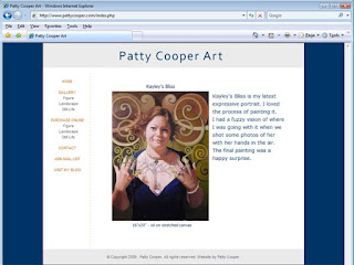 Patty Cooper Art Website