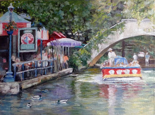 Sunny Afternoon on the San Antonio River