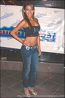Miss Hawaiian Tropic Bolivia 2009