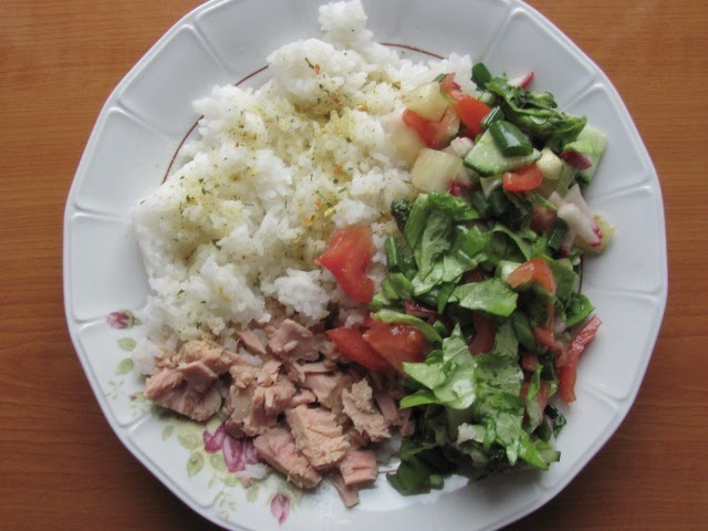 What to eat as a mountain biker climber steamed rice for Summer fish and rice