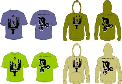 BMX Tshirt and Hoodie