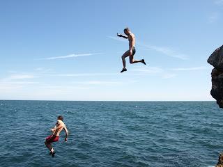 Constantin Gabor Cliff Jumping Bulgaria