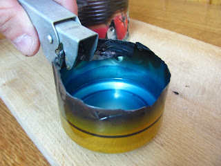 Beer Can in Alcohol Stove