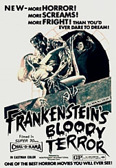 Frankenstein's Bloody Terror (1968) Roaming The Abyss Frankensteins Bloody Terror 169x243 Movie-index.com