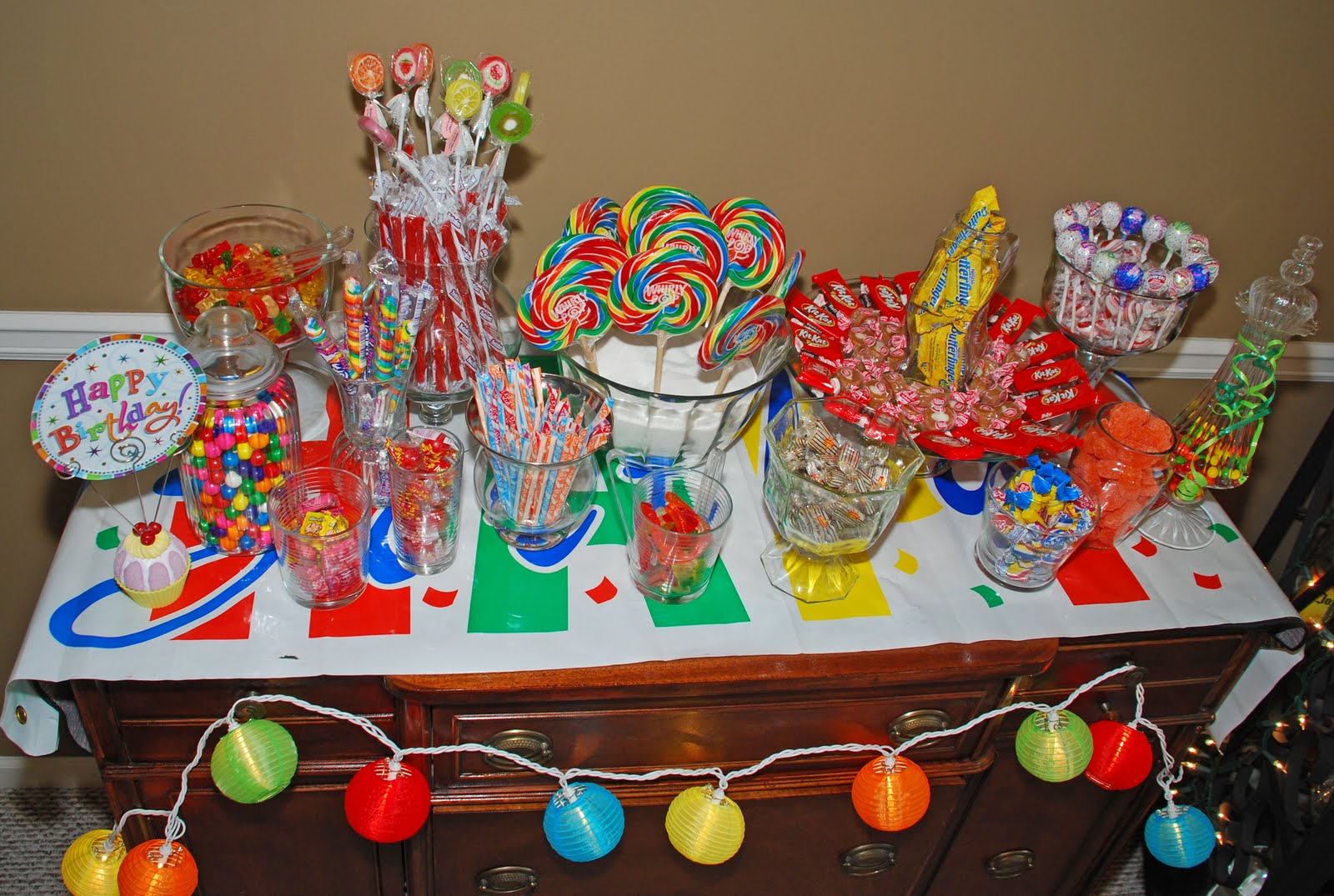 A Quest for a Balanced Life: Candy Buffet Anyone?