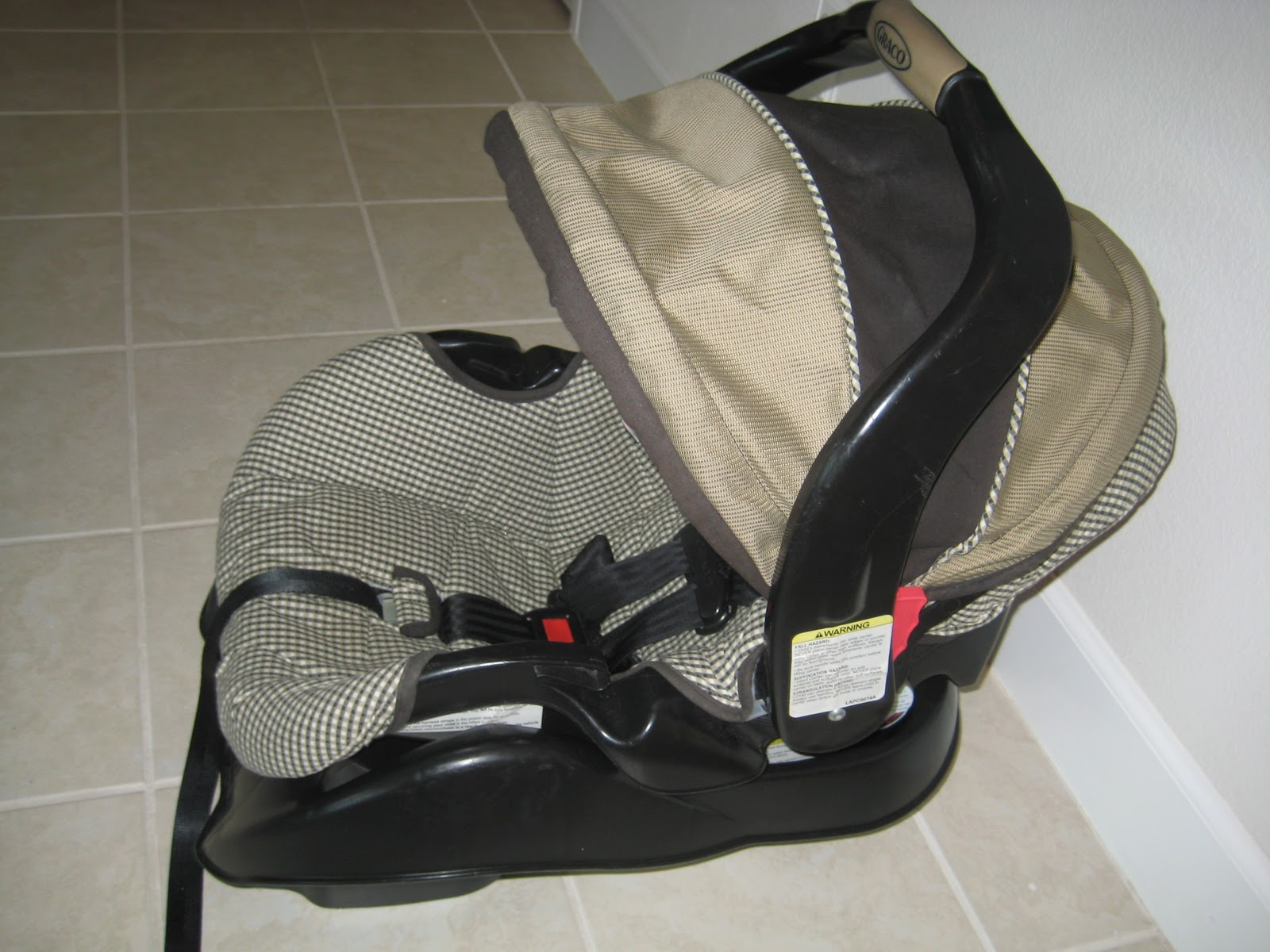 Graco SnugRider Elite Infant Car Seat Frame Stroller