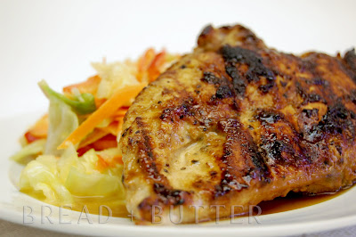 Bread + Butter: Grilled Honey-Mustard Chicken Breast