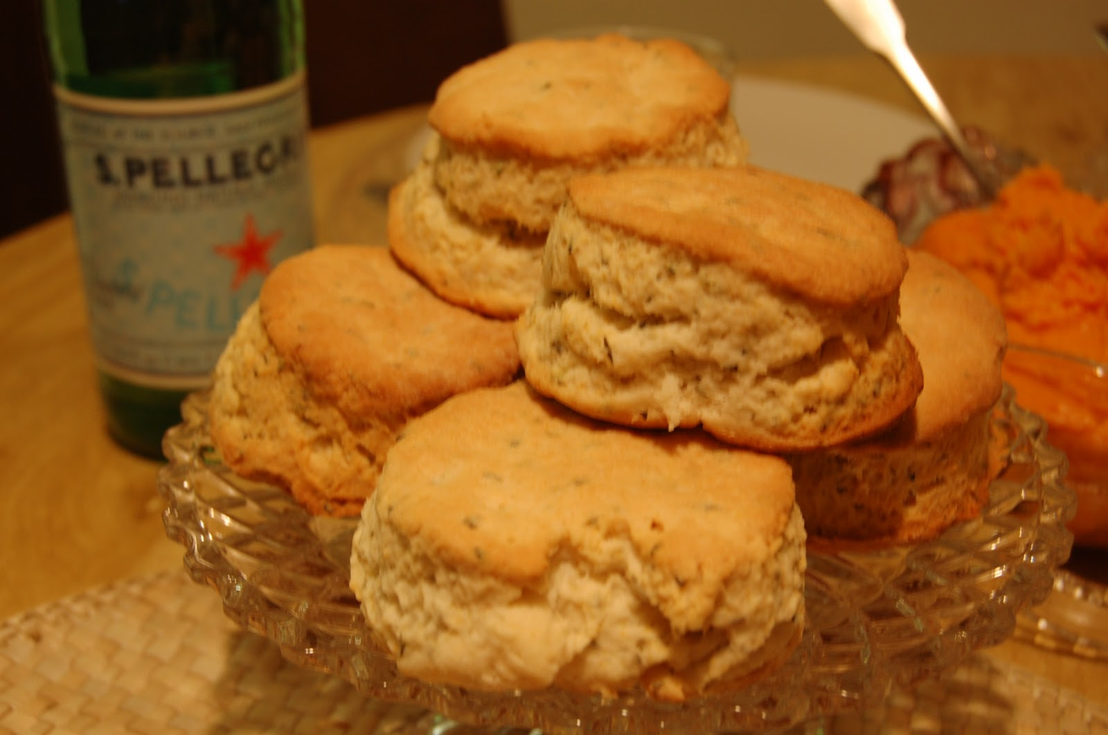 Bread + Butter: Thanksgiving Dish #2 - Honey-Herb Buttermilk Biscuits