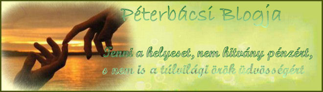 Péterbácsiblogja
