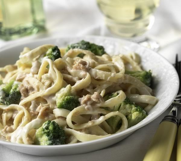 Delectable Food Made Simple: Chicken Broccoli Alfredo
