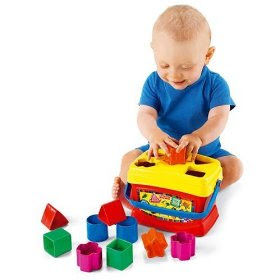 Cheap Baby Toys - Fisher Price Brilliant Basics Baby's First Blocks
