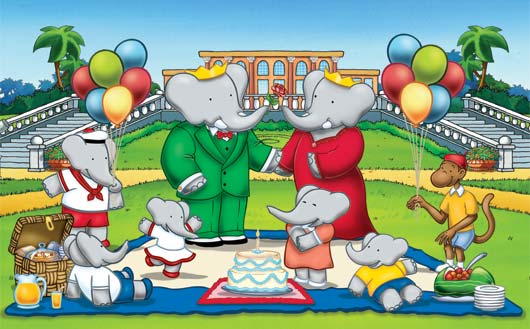 Babar Cartoon