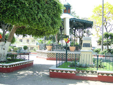 The Town Square In Ajijic