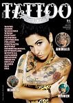 ANA MALHOA  CAPA DE UMA REVISTA INTERNACIONAL DE TATUAGENS