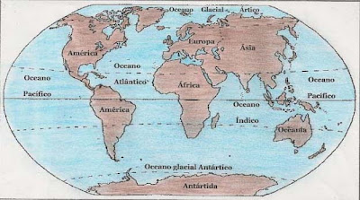 GEOGRAFIA EM FOCO Curiosidades origem dos nomes dos Oceanos