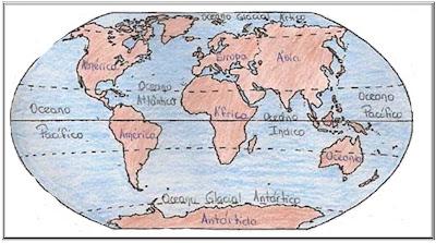 Continentes E Cinco Oceanos Continentes Asia America Africa Antartida