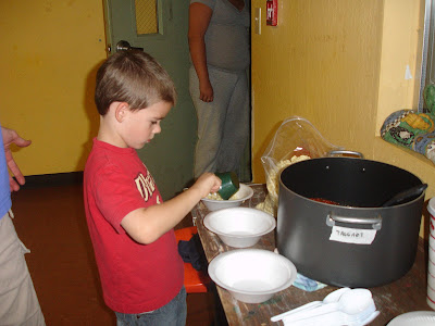 Micah Rich, our youngest helper