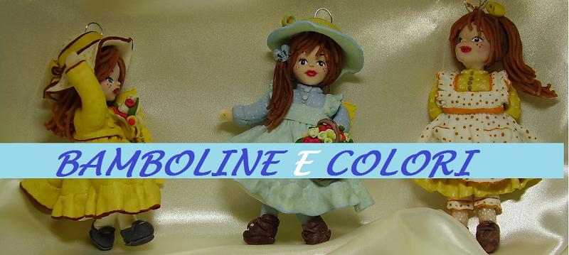 Bamboline e colori